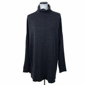 Eileen Fisher Merino Wool Tunic Sweater #107